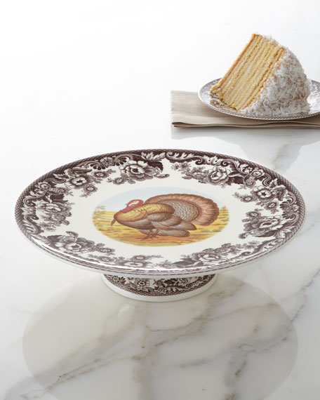 Turkey Footed Cake Stand
