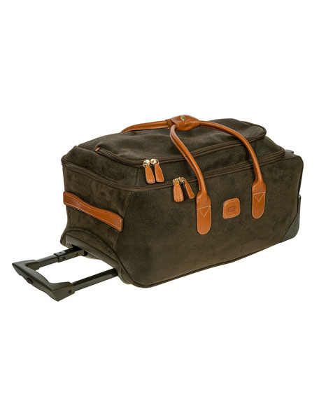 "Olive Life 21"" Rolling Duffel Luggage"