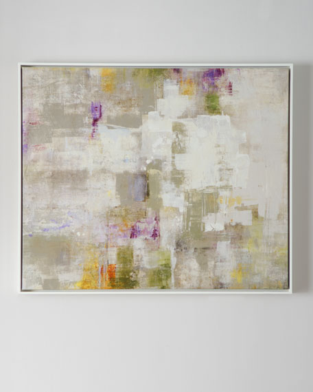 """""""Next"""" Framed Abstract Giclee"""