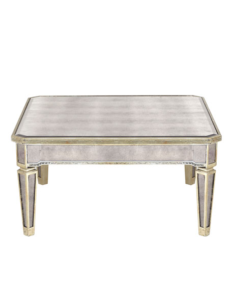 Image 3 of 3: Amelie Mirrored Coffee Table