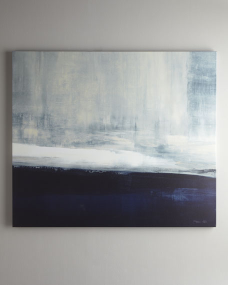 """Driven"" Abstract Giclee on Canvas Wall Art"