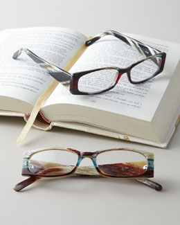 Faux-Bone Reading Glasses