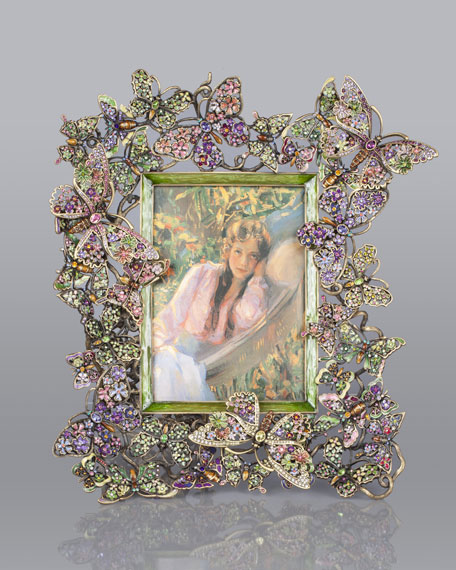 """Floral Butterfly 5"""" x 7"""" Frame"""