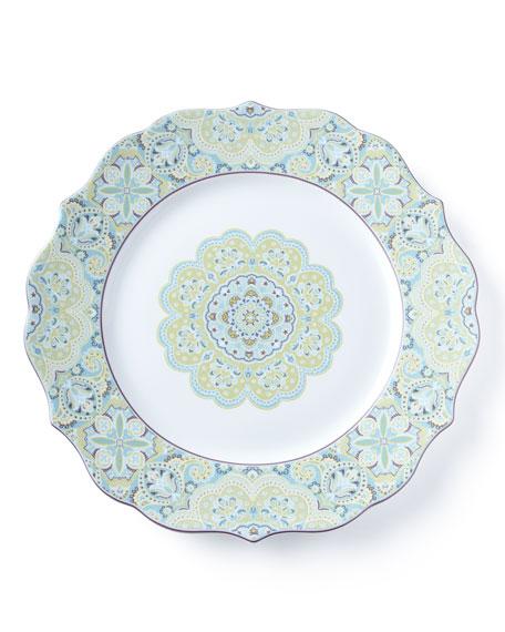 16-Piece Lyria Teal Dinnerware Service