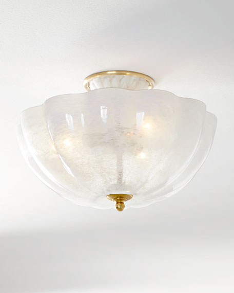 AERIN Rosehill Semi-Flush Light Fixture