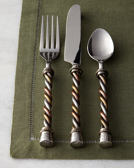 GG Collection 20-Piece Twisted Flatware Service