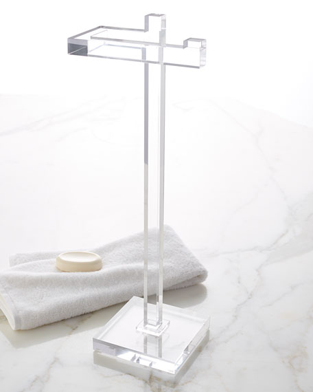 Mike & Ally Solid Ice Hand Towel Stand