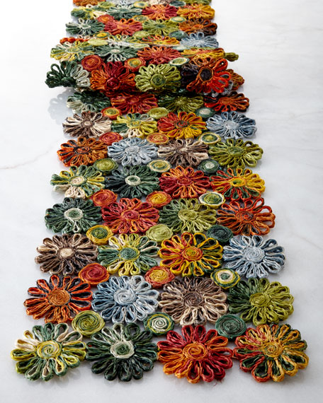 Patchwork Daisy Runner