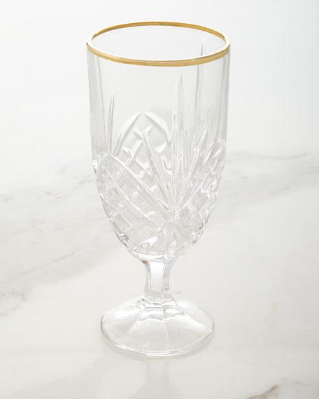 Dublin Gold Iced-Beverage Goblets, Set of 4