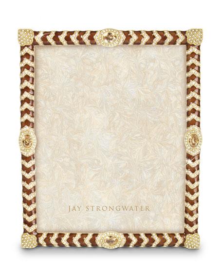 Jay Strongwater Alden Crystal Chevron 8