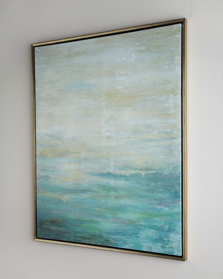 "John-Richard Collection ""As the Water Flows"" Giclee on Canvas Wall Art"