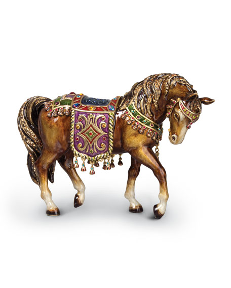 Jay Strongwater NATIVITY HORSE