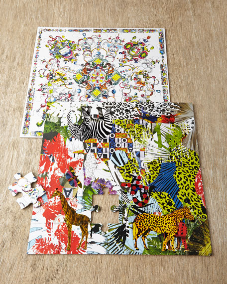Christian Lacroix Glam'azonia Boxed Jigsaw Puzzle
