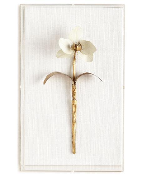 Tommy Mitchell Original Gilded Flower Studies