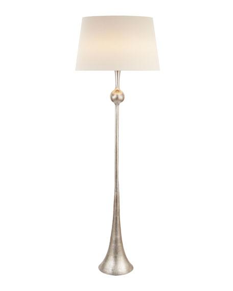 Dover Silver Floor Lamp