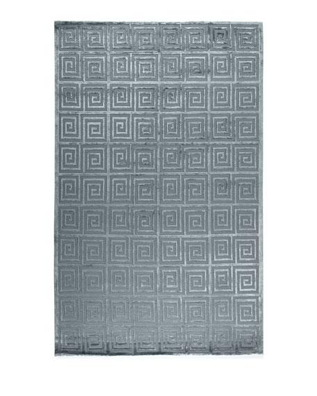 Diona Greek Key Rug, 8' x 10'