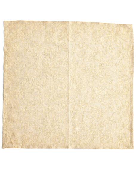 Deborah Rhodes Leaf Placemat, Tapestry Napkin, & Dogwood