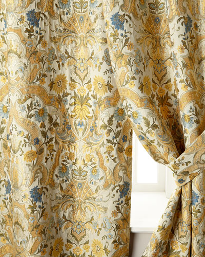Two 52W x 96L Manor Curtains