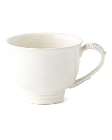 Juliska Acanthus Whitewash Coffee Cup