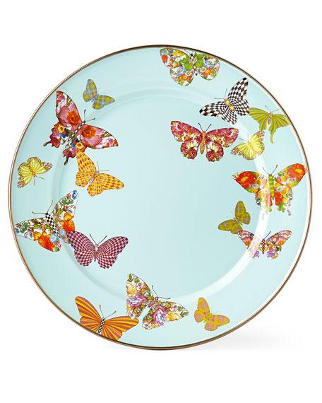 MacKenzie-Childs Butterfly Garden Sky Dinnerware