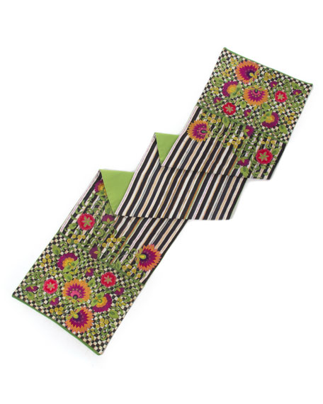 MacKenzie-Childs Dahlia Table Runner