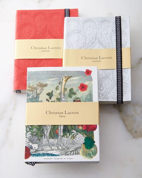 Christian Lacroix Wild Nature Notebooks, 3-Piece Set