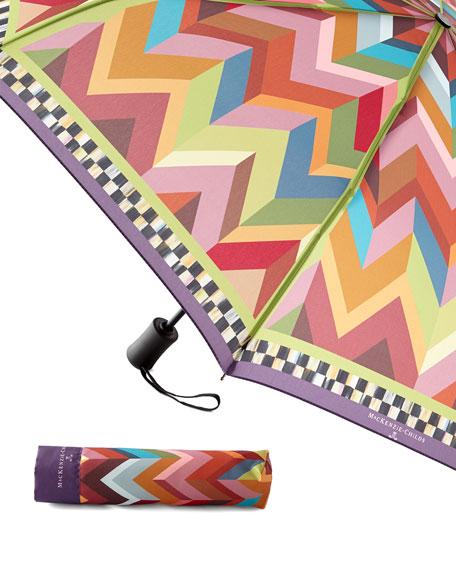 MacKenzie-Childs Kaleidoscope Travel Umbrella