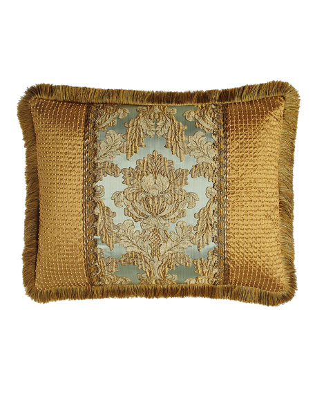 Sweet Dreams Palazzo Como King Pieced Sham with Fringe