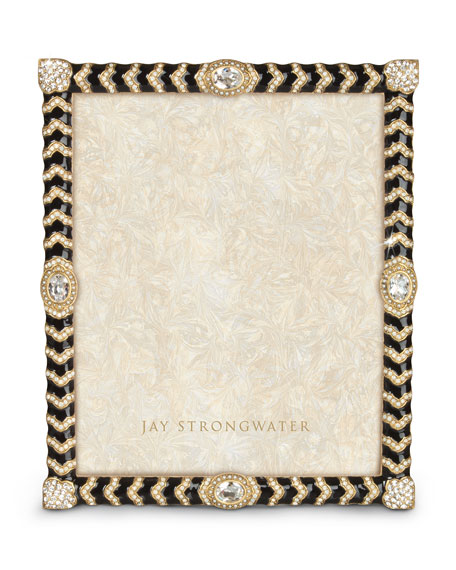 Jay Strongwater Crystal Chevron 8