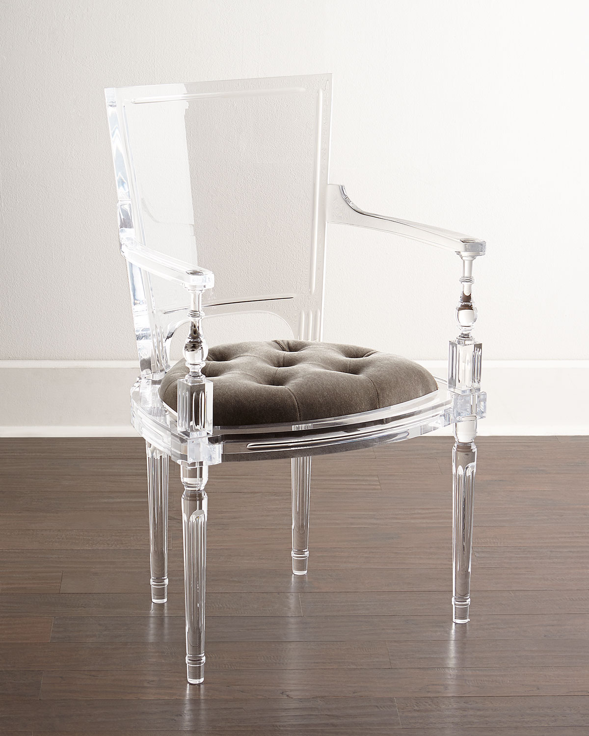 Global Views Katherine Acrylic Armchair