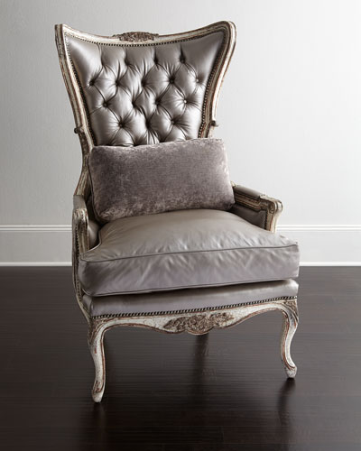Old Hickory Tannery Jeraldine Leather Chair
