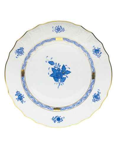 Blue Chinese Bouquet Dinner Plate