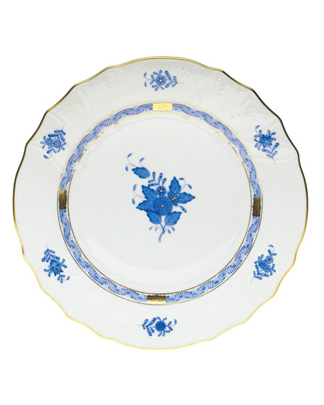 Herend Blue Chinese Bouquet Dinner Plate