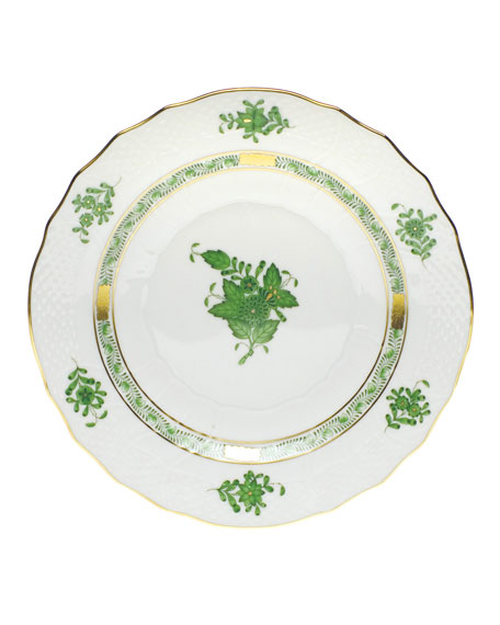 Herend Green Chinese Bouquet Dinnerware