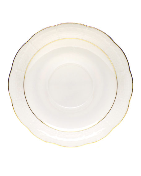 Herend Golden Edge Saucer
