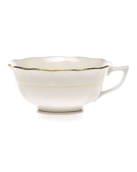Golden Edge Teacup