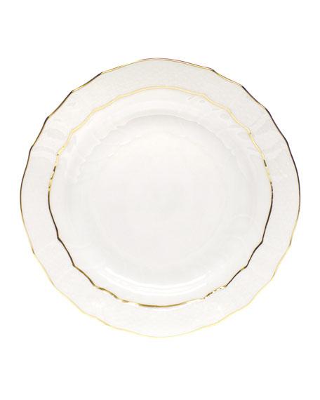 Golden Edge Bread & Butter Plate