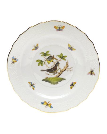 Herend Rothschild Bird Salad Plate #1