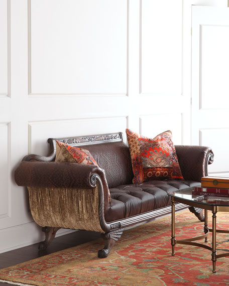 Old Hickory Tannery Sybil Settee