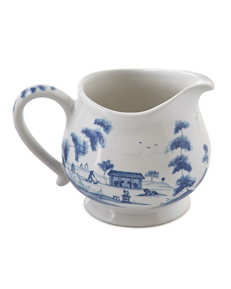 Juliska Country Estate Delft Blue Creamer
