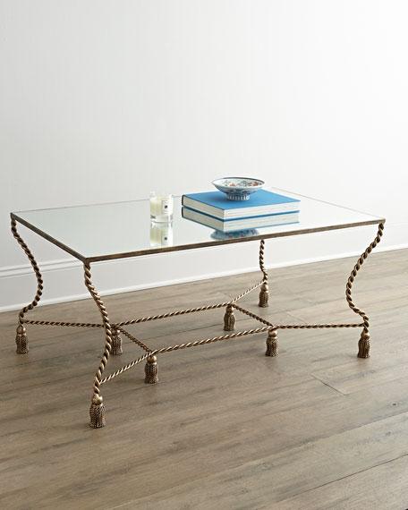 Phenix Mirror Top Coffee Table