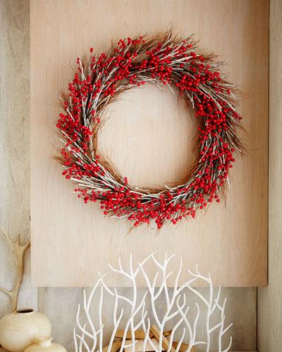 "Aspen Fantasy 50"" Christmas Wreath"