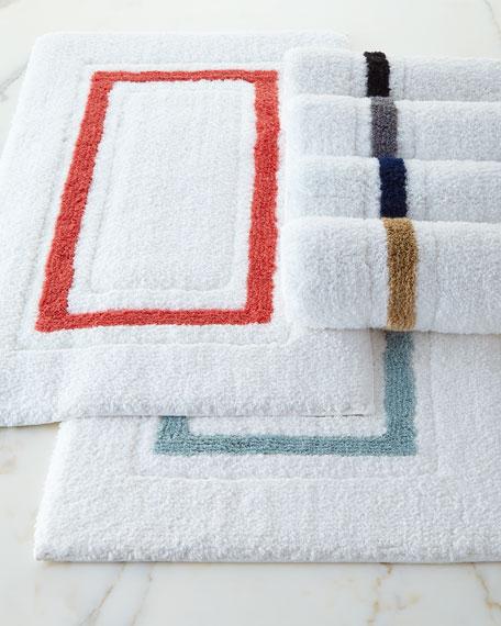 Framed Bath Rug & Matching Items