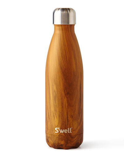 Teakwood 17-oz. Reusable Bottle
