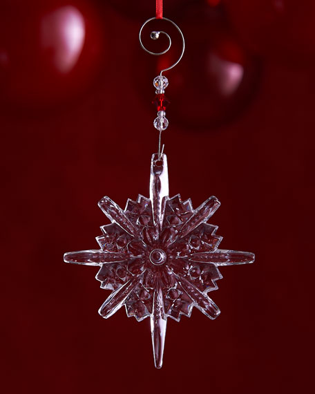 Waterford Annual Snowstar Christmas Ornament