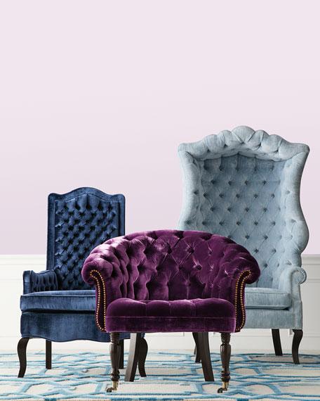 Haute House Purple Sausalito Chair