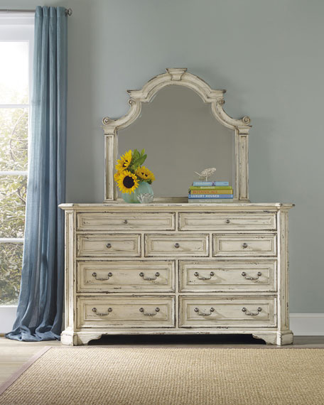 Hooker Furniture Edina Nine-Drawer Dresser