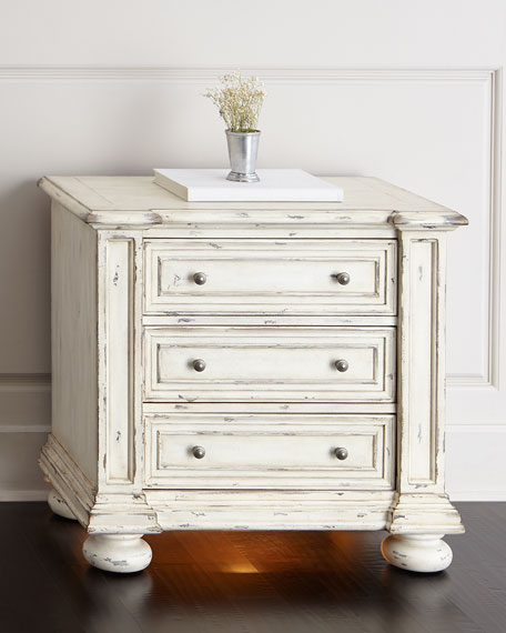 Hooker Furniture Edina Three-Drawer Nightstand