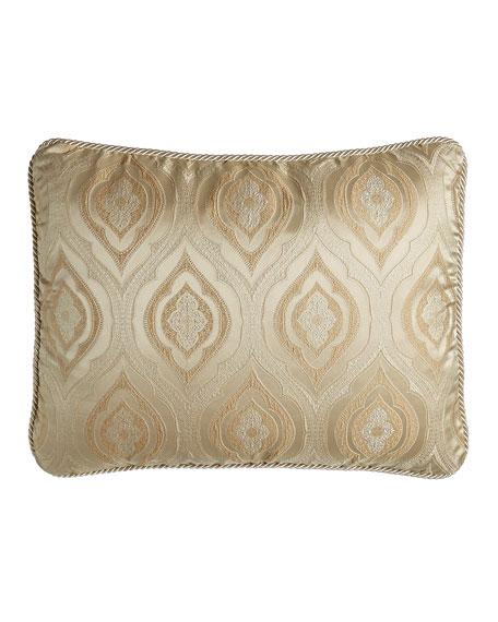 Isabella Collection Standard Montfort Ivory/Gold Ogee Sham