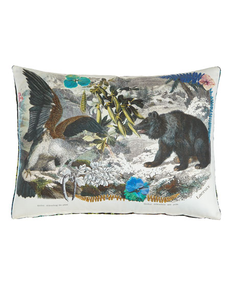 Christian LacroixCrazy Nature Onyx Pillow
